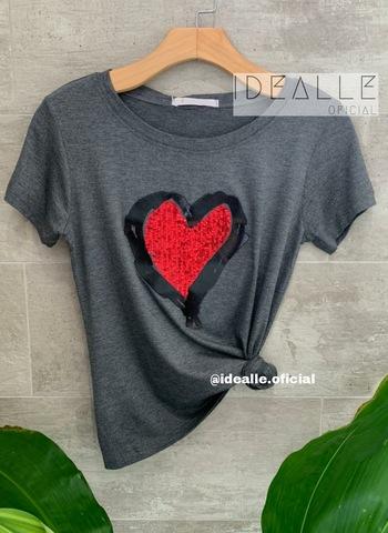 imagem T-Shirt Coração Rubi