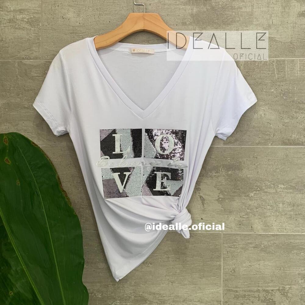 Imagem do produto T-Shirt Belive in Love Branca