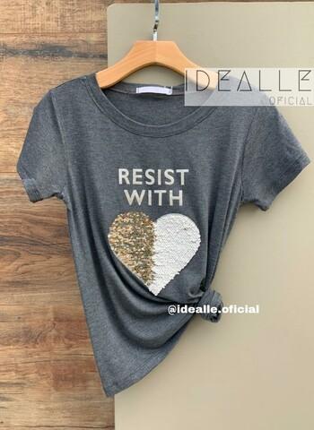 imagem T-Shirt Resist Cinza