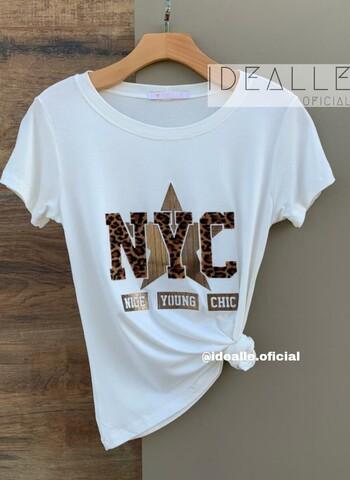 imagem T-Shirt NYC Animal Print