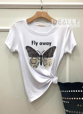 imagem T-Shirt Fly Branca