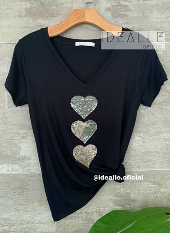 imagem T-Shirt Idealle Preta
