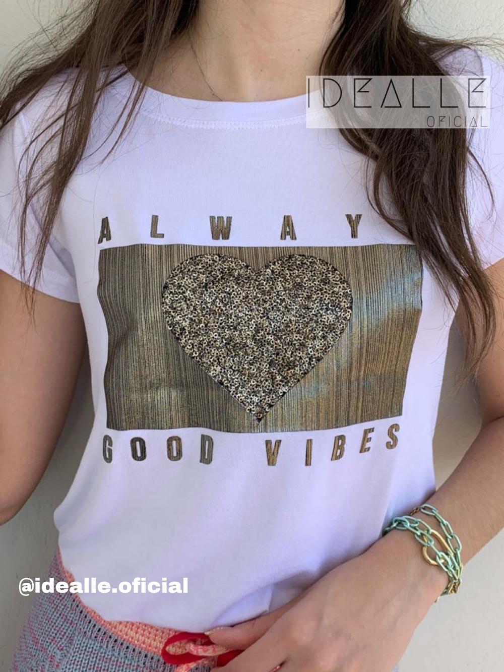 Imagem do produto T-Shirt Always Branca
