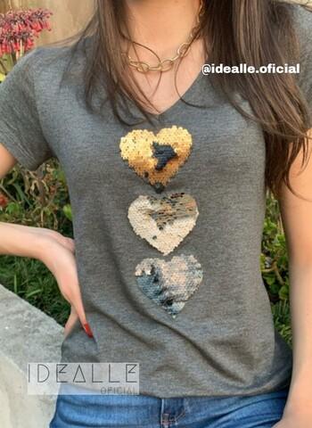 imagem T-Shirt Idealle Cinza