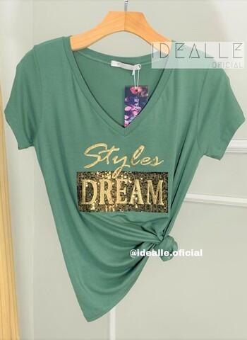 imagem T-Shirt Style Dream Verde