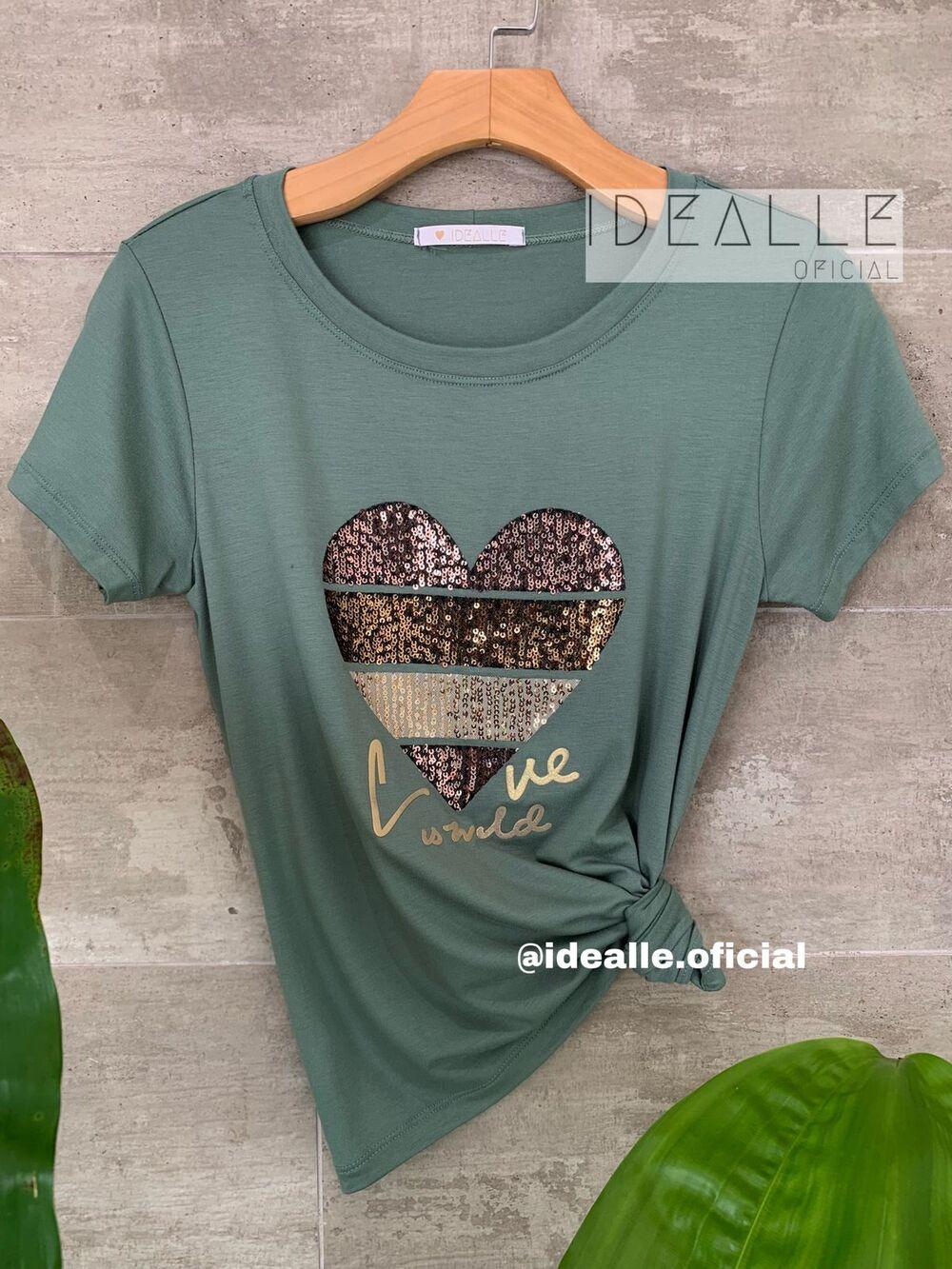 Imagem do produto T-Shirt Esmeralda