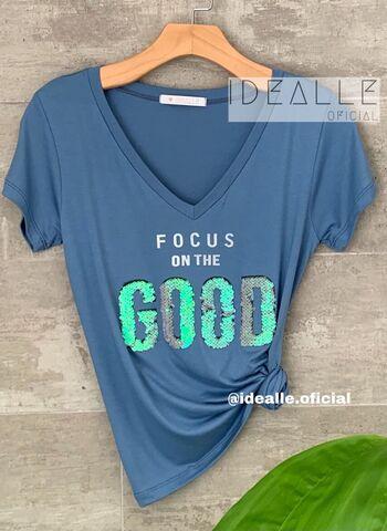 imagem T-Shirt Good Azul