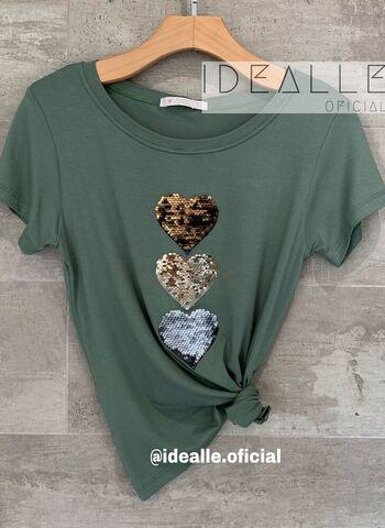 imagem T-Shirt Idealle Verde