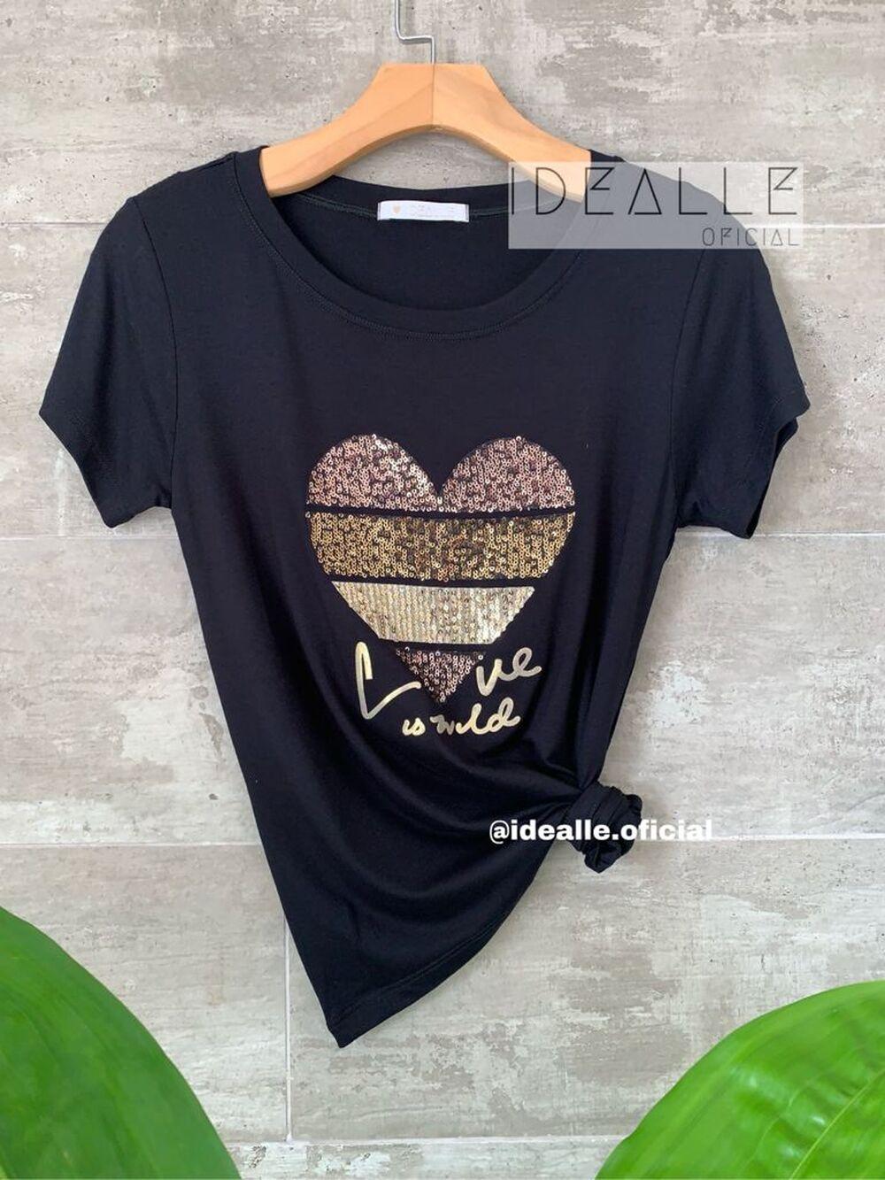 Imagem do produto T-Shirt Esmeralda Preta