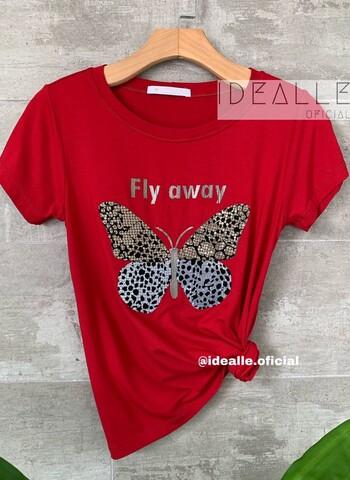 imagem T-Shirt Fly Vinho