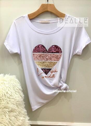 imagem T-Shirt Esmeralda Branca