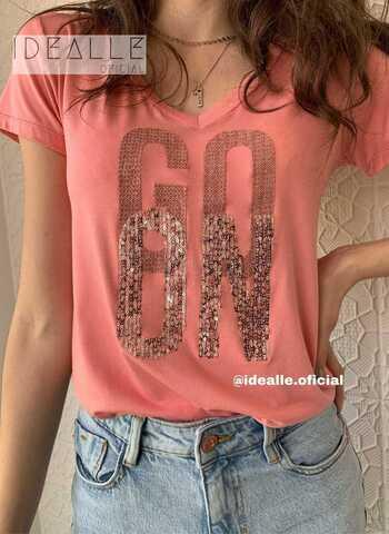 imagem T-Shirt GO ON Goiaba