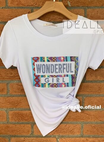 imagem T-Shirt Wonderful Branca