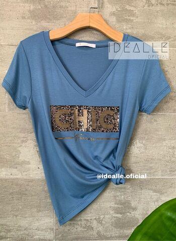 imagem T-Shirt Sereia Azul