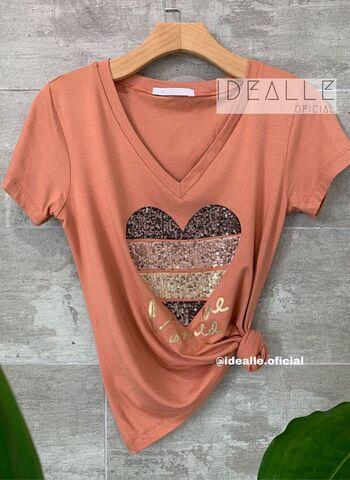 imagem T-Shirt Esmeralda Camafeu