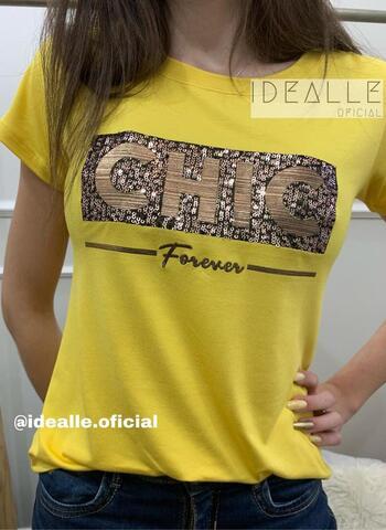 imagem T-Shirt Chic Bronze