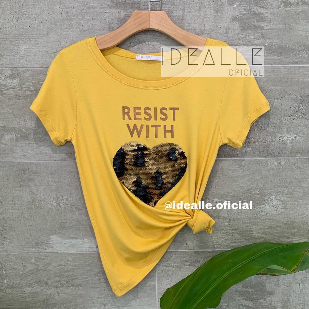 Imagem do produto T-Shirt Resist Mostarda
