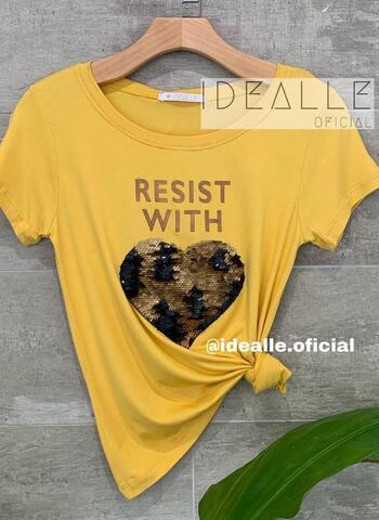 imagem T-Shirt Resist Mostarda