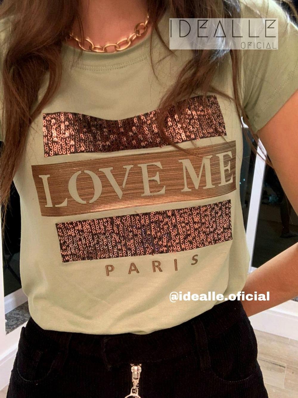 Imagem do produto T-Shirt Love Me Verde