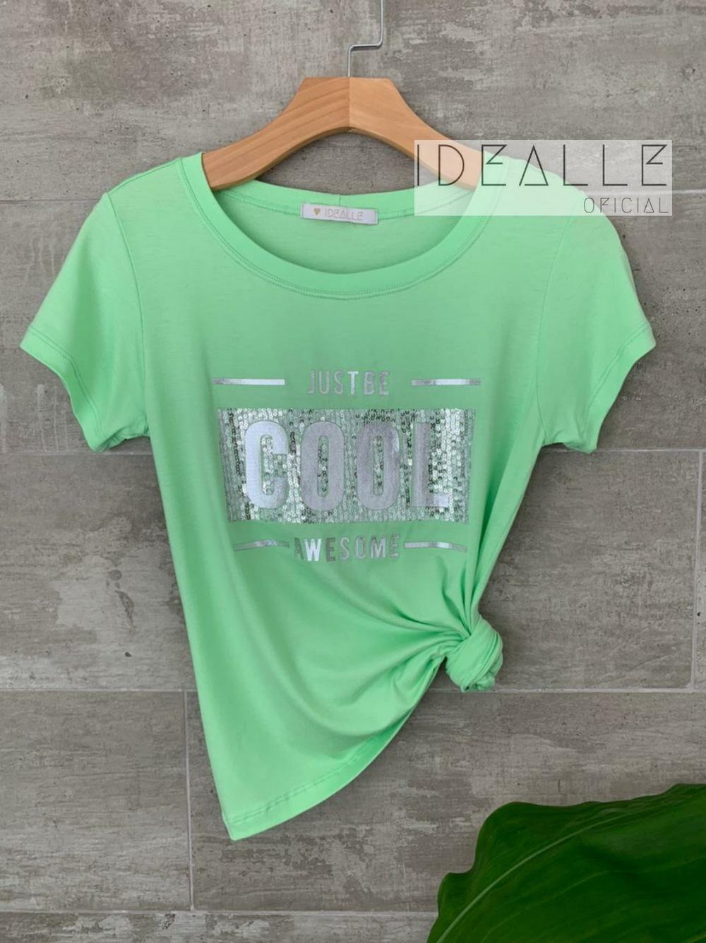 Imagem do produto T-Shirt Just Be Verde