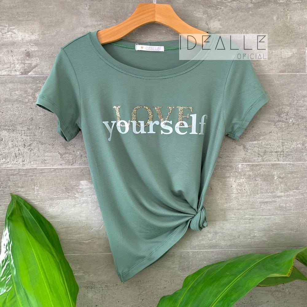 Imagem do produto T-Shirt Love Yourself Verde