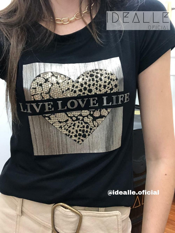 Imagem do produto T-Shirt Love Animal Print