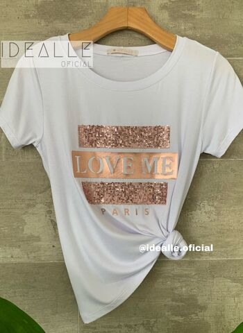 imagem T-Shirt Love Me Branca