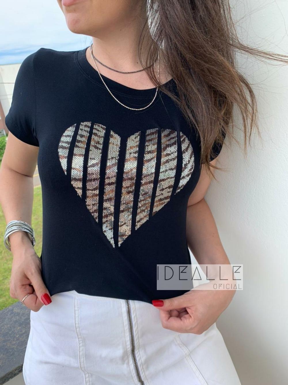 Imagem do produto T-Shirt Coração