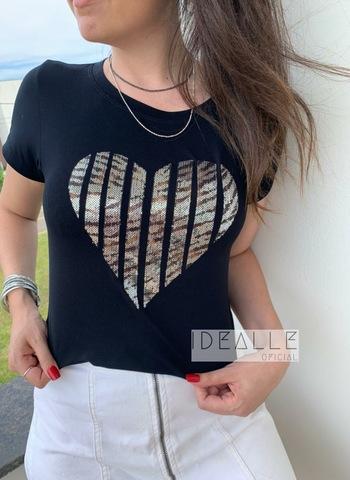 imagem T-Shirt Coração