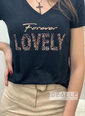 imagem T-Shirt Lovely Preta